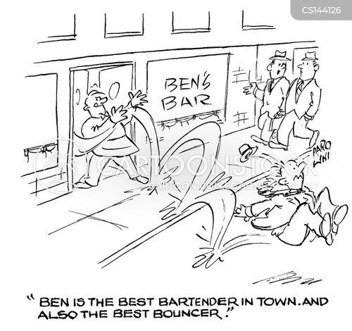 best bar in town cartoon