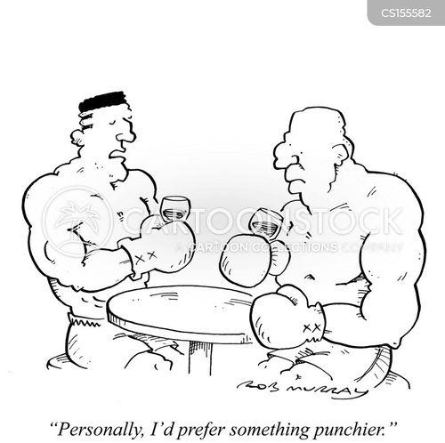 wine critic cartoon
