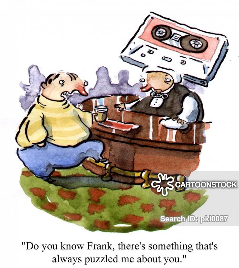 cassettes cartoon