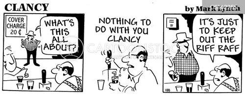 gentrifying cartoon