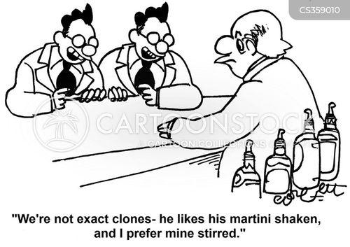 cloning lab cartoon