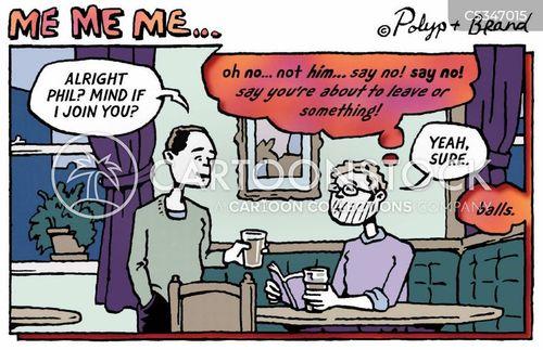 man talk cartoon