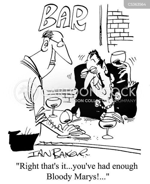 bloody mary cartoon