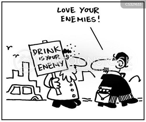 love your enemies cartoon