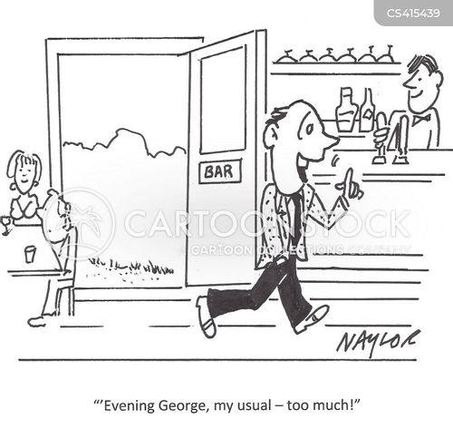 local pubs cartoon
