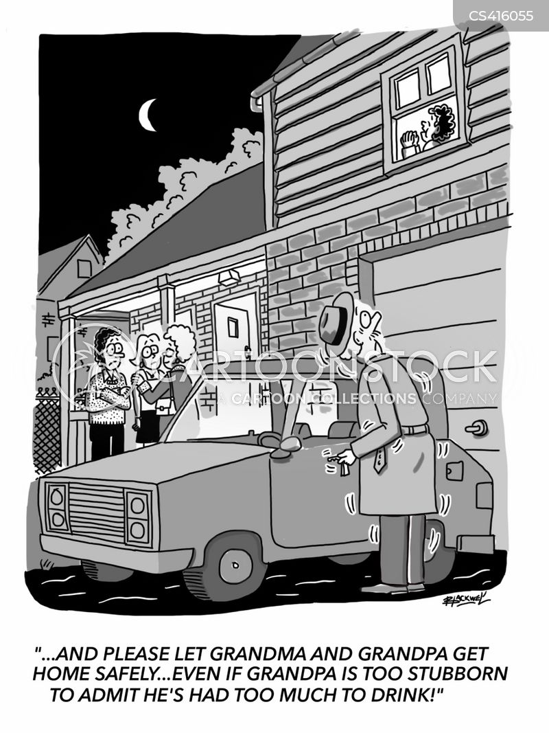 designated driver cartoon