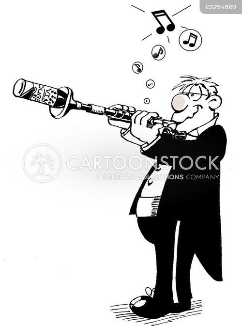 oboes cartoon