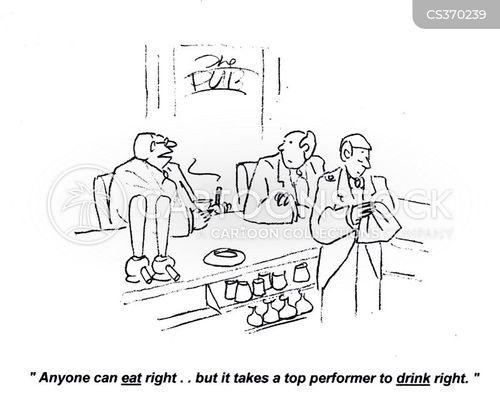 eats right cartoon