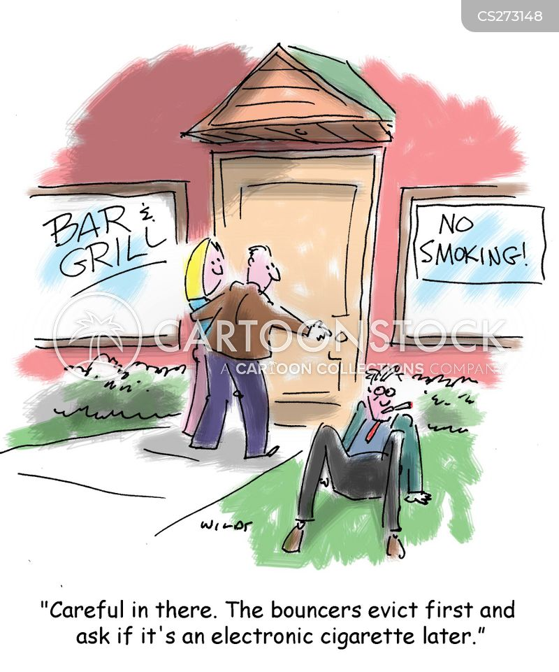 smoking hazards cartoon