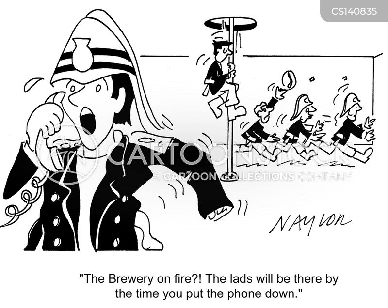 fighting fires cartoon