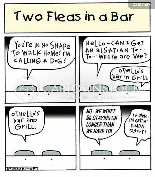 drunken behavior cartoon