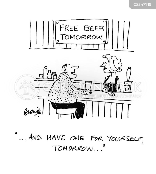 free bar cartoon