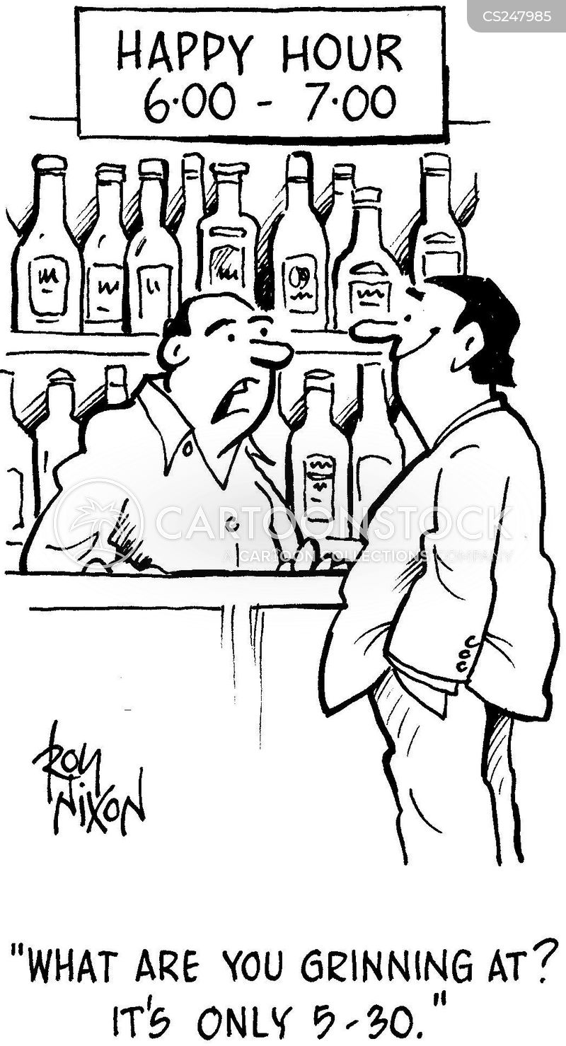 pub landlord cartoon
