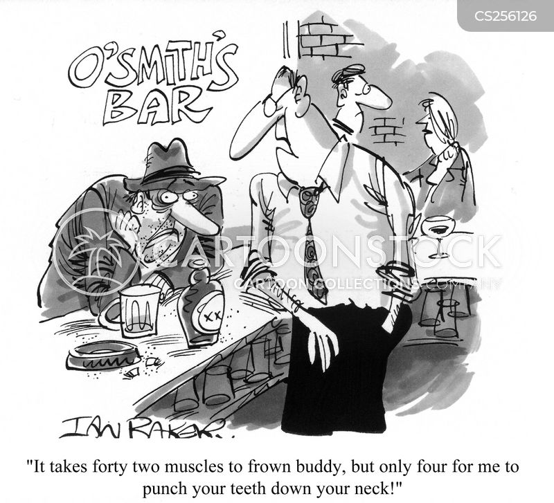 punters cartoon