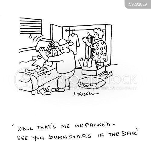 big drinker cartoon