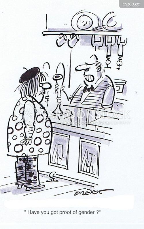 identity cards cartoon
