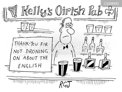 bar counter cartoon