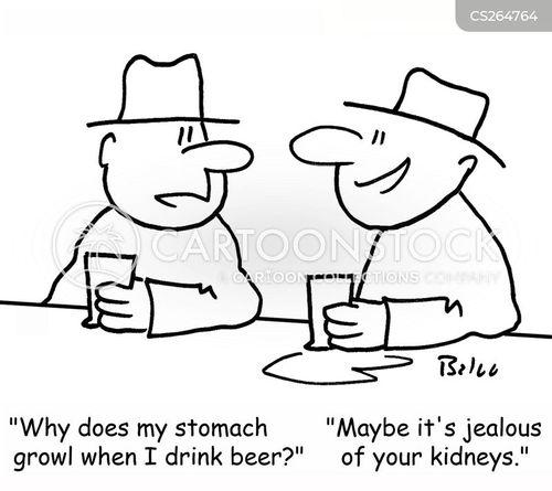 drinking mate cartoon
