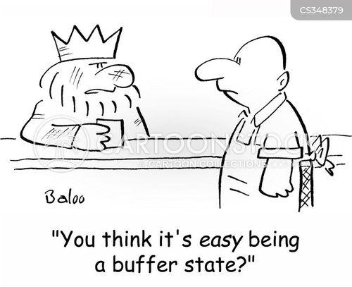 buffer cartoon