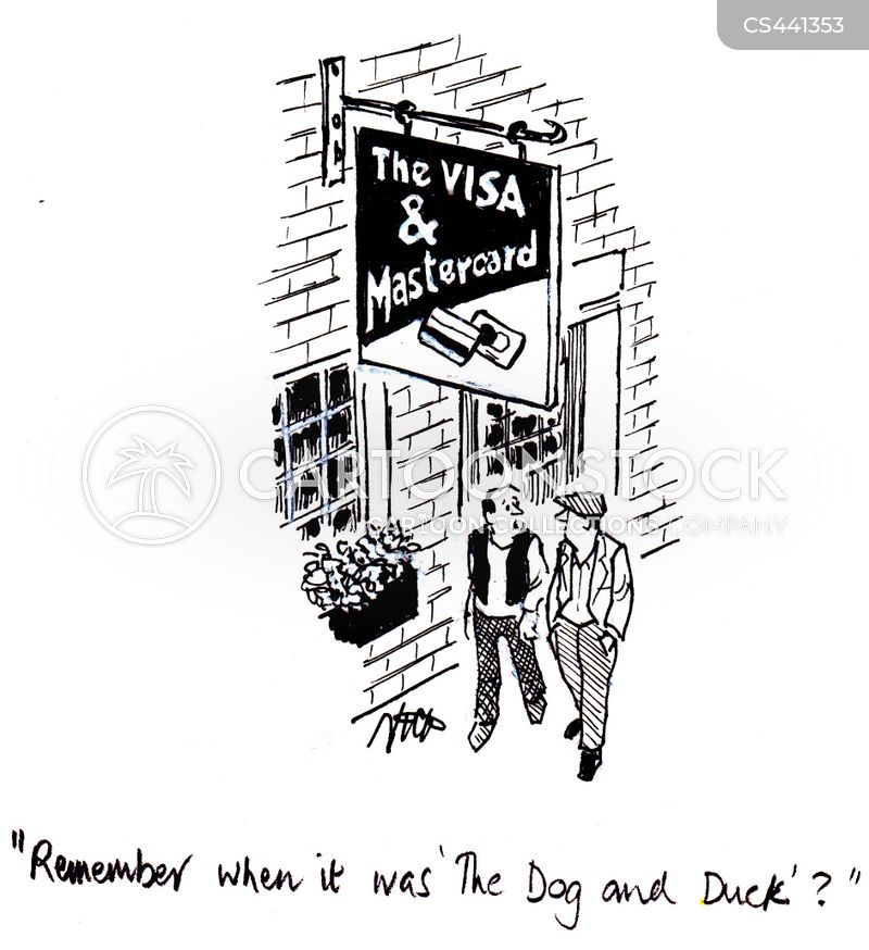 Pub Names Cartoons and Comics - funny pictures from CartoonStock