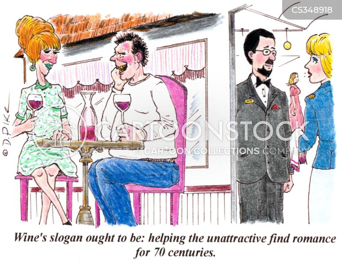 unattractiveness cartoon