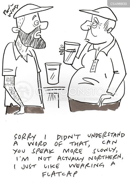 flat cap cartoon