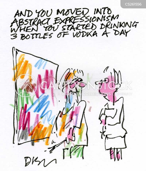 abstract arts cartoon