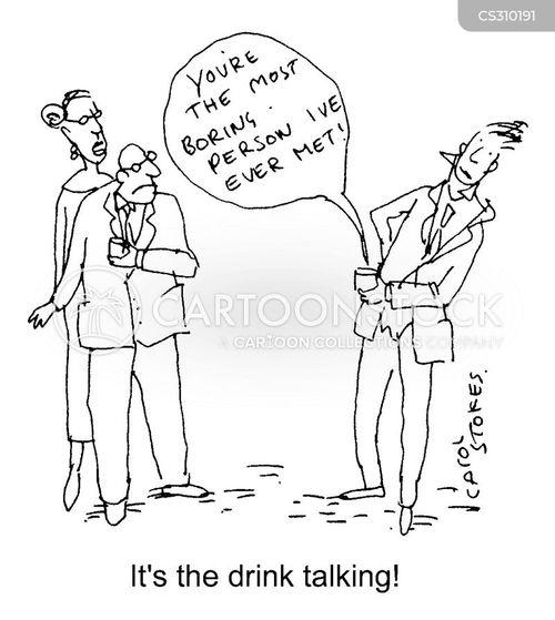 drink talking cartoon