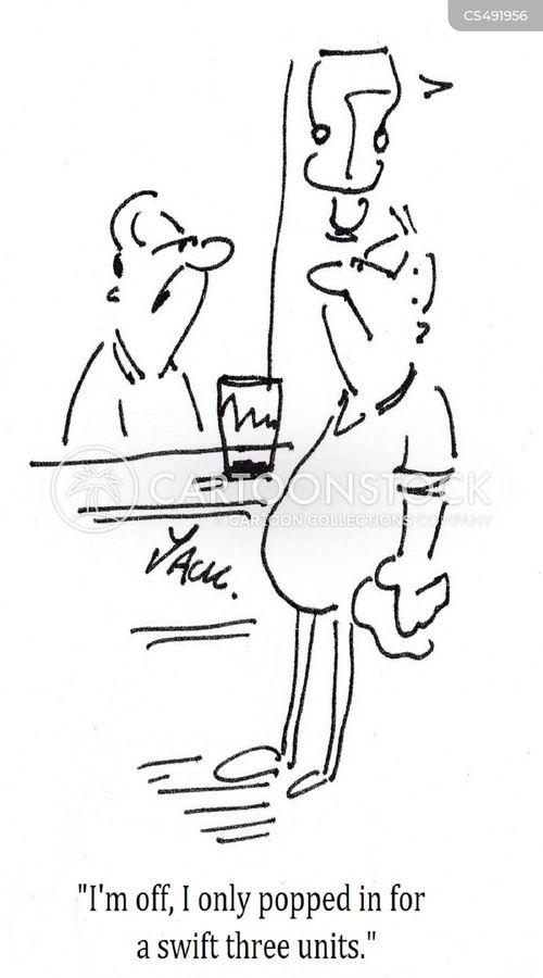 alcohol unit cartoon