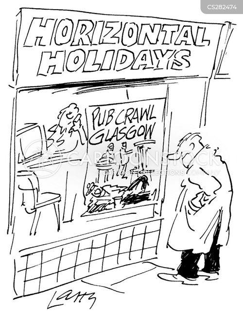 glasgow cartoon