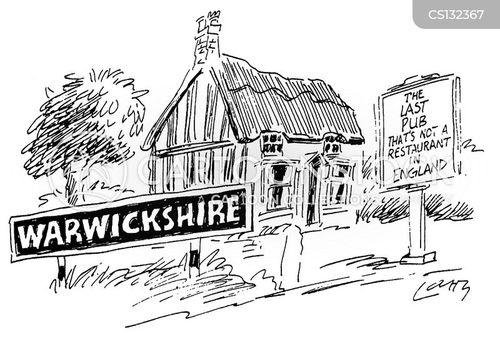 pub grub cartoon