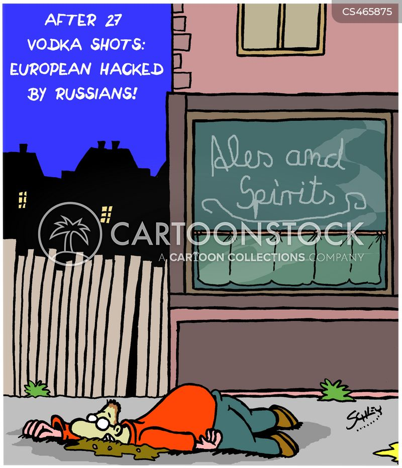 cyberattacks cartoon