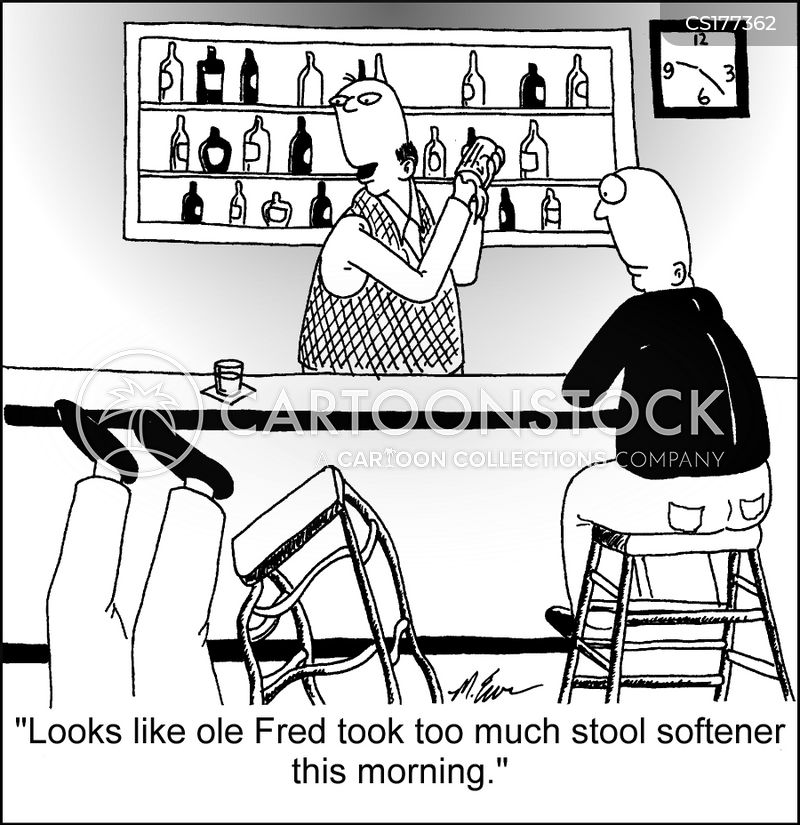 stool softeners cartoon