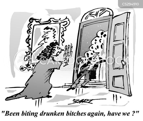 jealous wife cartoon