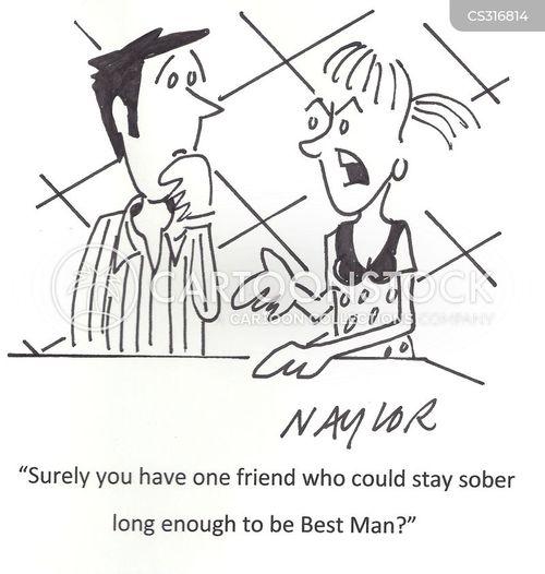 best men cartoon