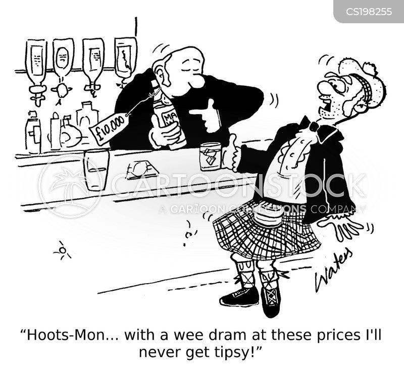 whiskey prices cartoon