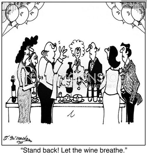 bottle of wine cartoon