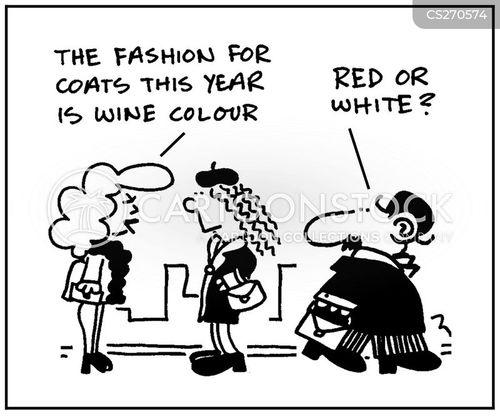 white whines cartoon