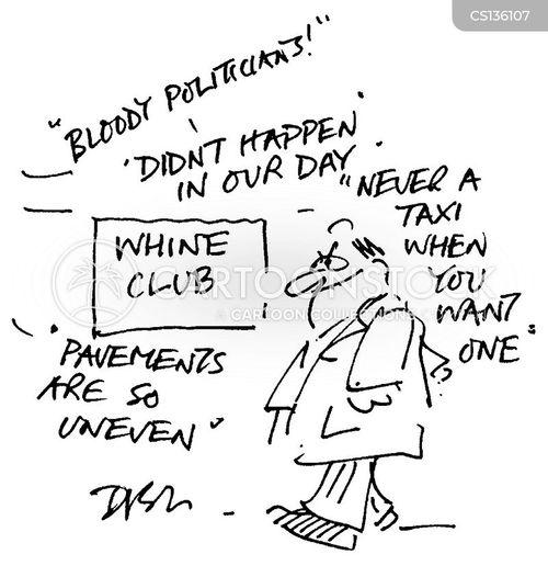 wine club cartoon