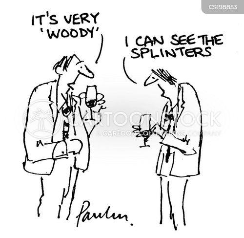 wine taster cartoon