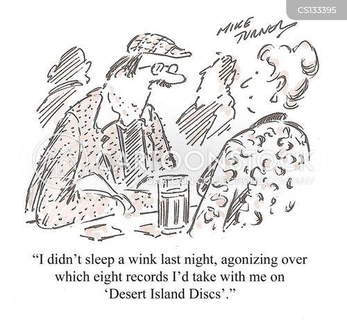 desert island discs cartoon