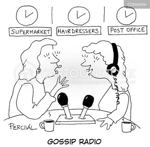 talk radio cartoon