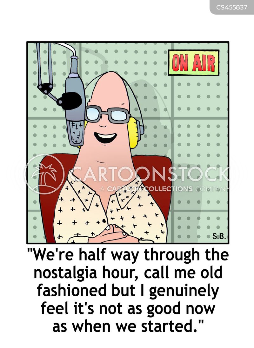 radio hosts cartoon