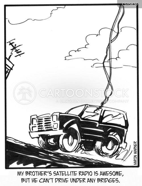 low bridges cartoon