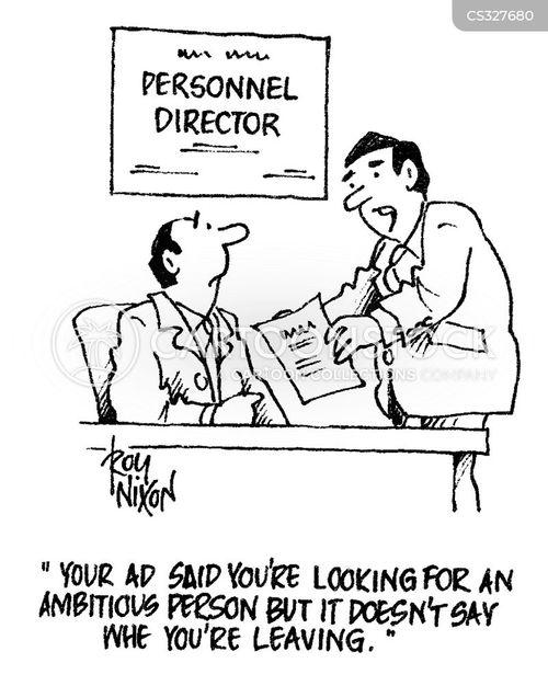 personal qualities cartoon