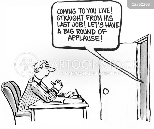 job change cartoon