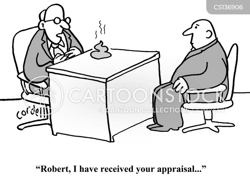 performance evaluations cartoon