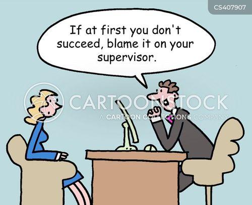 supervising cartoon