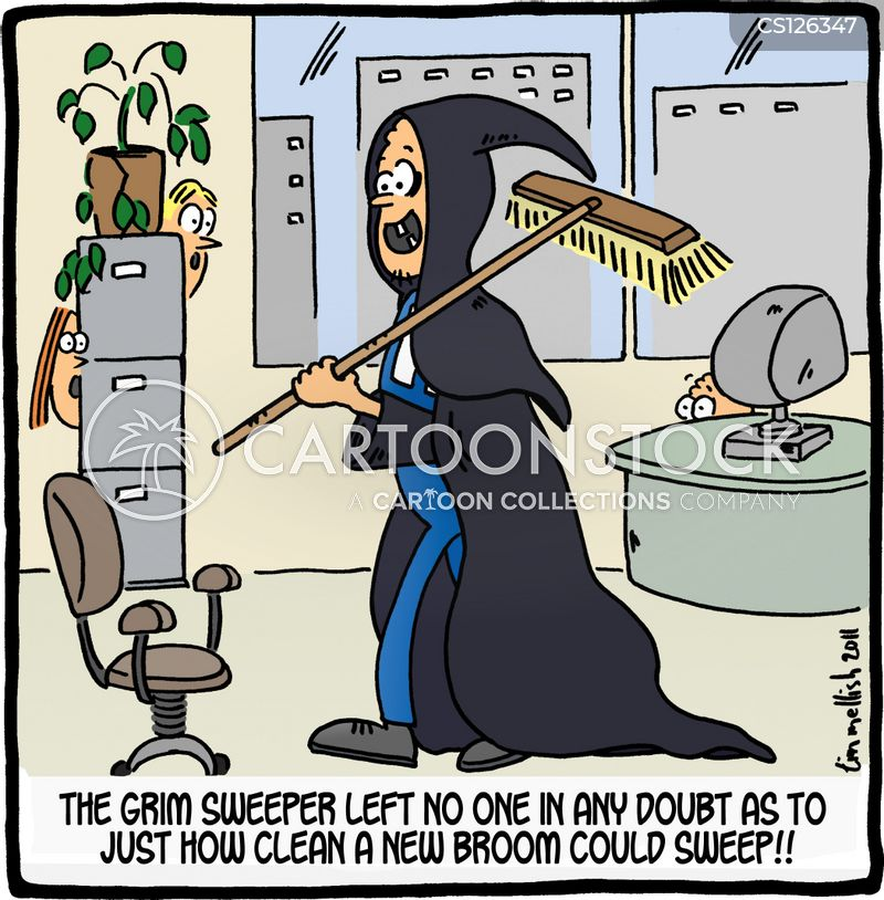 sweeper cartoon