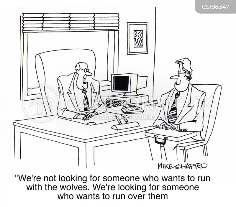 hiring and firing cartoon